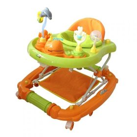 Ходунки Emotion Zoo, BabyHit Orange