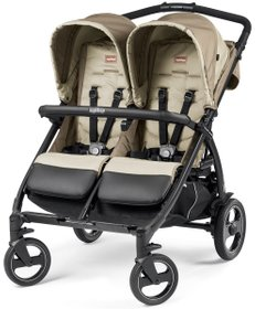 Коляска Peg-Perego BOOK FOR TWO CLASS BEIGE (Бежева)