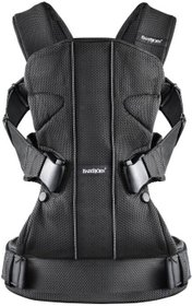 "Рюкзак ""BB®Baby Carrier ONE (Black, Mesh)"" чорний"
