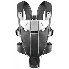 "Рюкзак ""BB®Baby Carrier Miracle (Black/Silver, Cotton Mix)"""