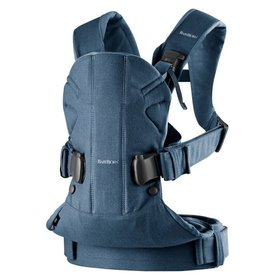 "Рюкзак ""BB®Baby Carrier ONE Denim grey/Dark grey Cotton Mix"