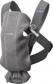 Рюкзак Baby Bjorn Carrier Mini Dark Grey (21084)